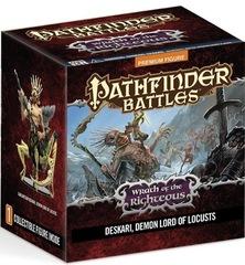 PF Battles Wrath of Righteous Deskari, Demon Lord of Locusts Premium Figure