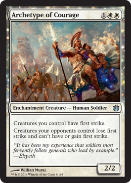 Archetype of Courage - Foil