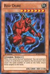 Red Ogre - BPW2-EN025 - Super Rare - 1st Edition