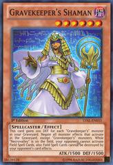 Gravekeeper's Shaman - LVAL-EN033 - Super Rare - 1st Edition