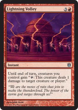 Lightning Volley - Foil