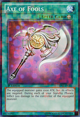 Axe of Fools - BP02-EN161 - Mosaic Rare - Unlimited