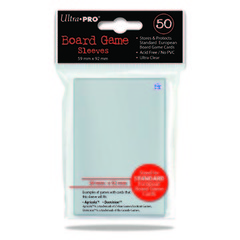 59mm X 92mm Standard European Board Game Sleeves 50ct