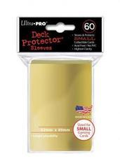 Ultra Pro Metalic Gold Small Deck Protectors (60ct)