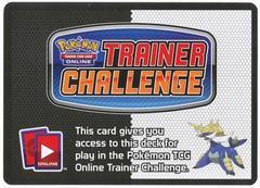 Black & White Blue Assault Theme Deck Code Card