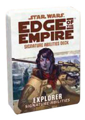 Star Wars: Edge of the Empire: Explorer Signature Abilities Specialization Deck