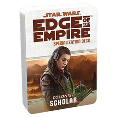 Star Wars: Edge of the Empire: Scholar Specialization Deck