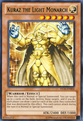 Kuraz the Light Monarch - Green - DL16-EN004 - Rare - Unlimited Edition