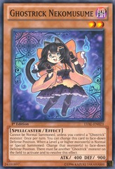 Ghostrick Nekomusume - LVAL-EN023 - Common - Unlimited