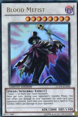 Blood Mefist - YCSW-EN004 - Super Rare - Limited Edition on Channel Fireball