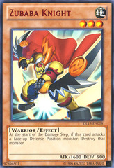 Zubaba Knight - Red - DL15-EN008 - Rare - Unlimited Edition