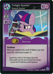 Twilight Sparkle, Research Student - Pƒ4