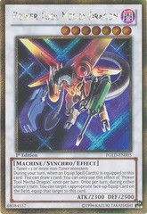 Power Tool Mecha Dragon - PGLD-EN005 - Gold Secret Rare - 1st Edition
