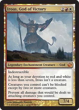 Iroas, God of Victory - Foil