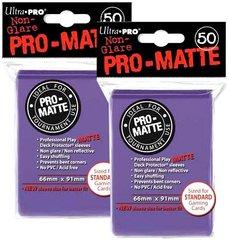 100ct Pro-Matte Purple Standard Deck Protectors