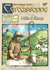 Carcassonne: Expansion 9 - Hills & Sheep