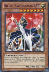 Silent Swordsman LV7 - Purple - DL17-EN003 - Rare - Unlimited Edition on Channel Fireball
