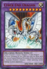 Cyber End Dragon - Purple - DL17-EN010 - Rare - Unlimited Edition on Channel Fireball
