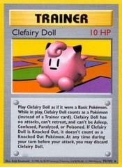 Clefairy Doll - 70/102 - Rare - Shadowless Edition