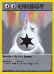 Double Colorless Energy - 96/102 - Uncommon - Shadowless Edition