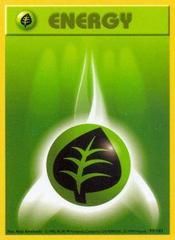 Grass Energy - 99/102 - Common - Shadowless Edition
