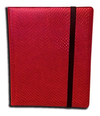 Legion Dragon Hide Binder - Red