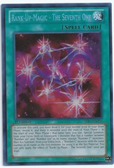 Rank-Up-Magic - The Seventh One - PRIO-EN058 - Secret Rare - 1st Edition