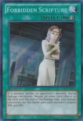 Forbidden Scripture - PRIO-EN067 - Secret Rare - 1st Edition