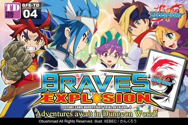 Trial Deck 4: Braves Explosion Deck Box