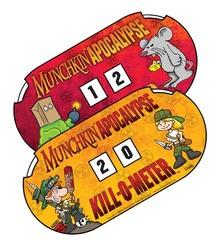 Munchkin Apocalypse Kill-o-meter