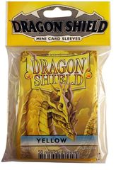 Dragon Shield Mini Card Sleeves (50 ct) - Yellow