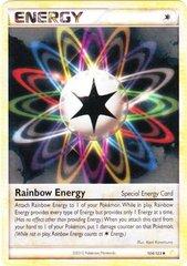 Rainbow Energy - 104 - Promotional - Crosshatch Holo Player Rewards Program 2011