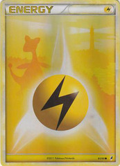Lightning Energy - 91 - Promotional - Crosshatch Holo 2011 Player Rewards
