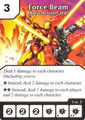 Basic Action Card - Force Beam (Card Only)