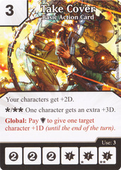 Basic Action Card - Take Cover (Card Only)