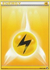 Lightning Energy - 108 - Promotional - Crosshatch Holo Pokemon League Bolt Season 2012