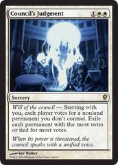Council's Judgment - Foil