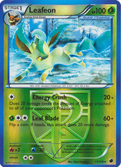 Leafeon - 11/116 - Promotional - Crosshatch Holo European Spring Regional Championships 2013 Promo