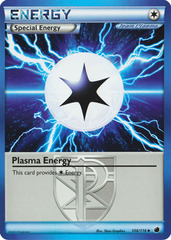 Plasma Energy - 106/116 - Promotional - Crosshatch Holo 2012 Player Rewards