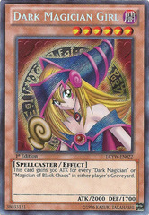 Dark Magician Girl - LCYW-EN022 - Secret Rare - Unlimited Edition