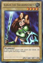 Kanan the Swordmistress - LCYW-EN228 - Ultra Rare - Unlimited Edition