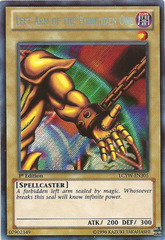 Left Arm of the Forbidden One - LCYW-EN305 - Secret Rare - Unlimited Edition