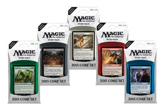 Magic 2015 Intro Pack Set of Five on Channel Fireball