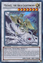 Michael, The Arch-Lightsworn - SDLI-EN036 - Ultra Rare - 1st Edition