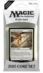 Magic 2015 (M15) Intro Pack - White on Channel Fireball