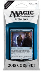 Magic 2015 (M15) Intro Pack - Blue on Channel Fireball