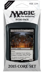 Magic 2015 (M15) Intro Pack - Black on Channel Fireball