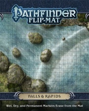 Pathfinder Flip-Mat: Falls & Rapids