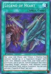Legend of Heart - DRLG-EN006 - Secret Rare - Unlimited Edition
