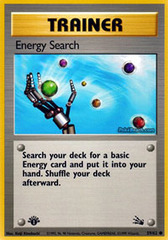 Energy Search - 59/62 - Common - 1999-2000 Wizards Base Set Copyright